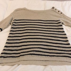 Stripped LOFT sweater